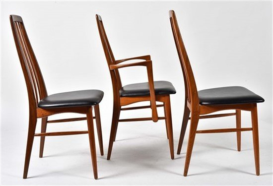 Group of Seven Niels Otto Møller Dining Chairs - 2