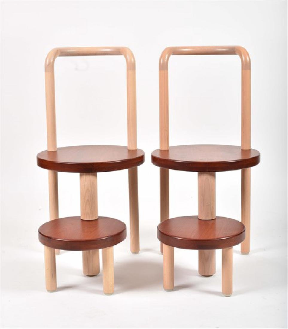 Pair of Custom-Made Todd Young Chairs