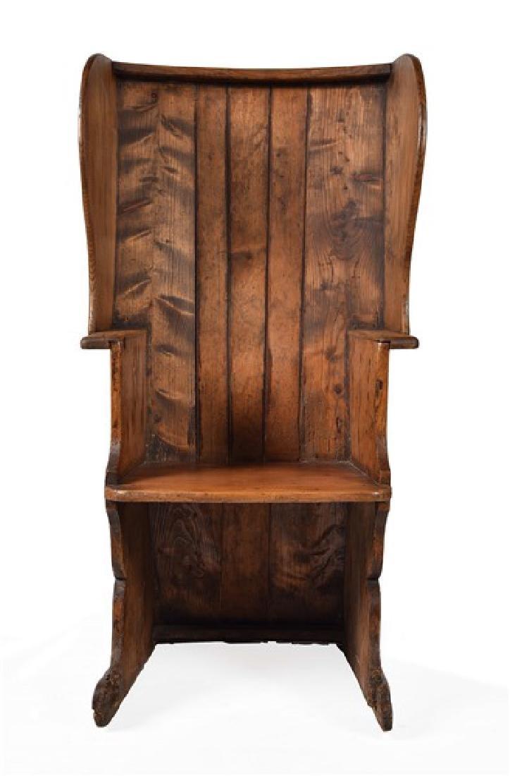 Wood Lambing Chair