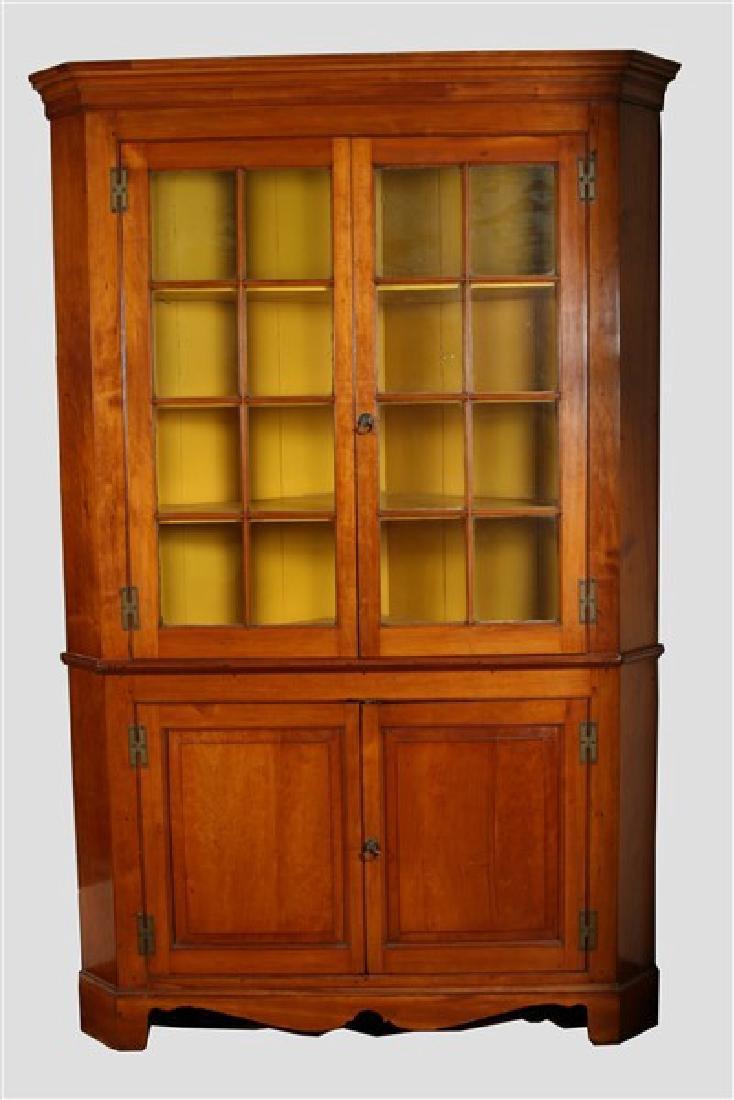 Pennsylvanian Large Corner Cabinet