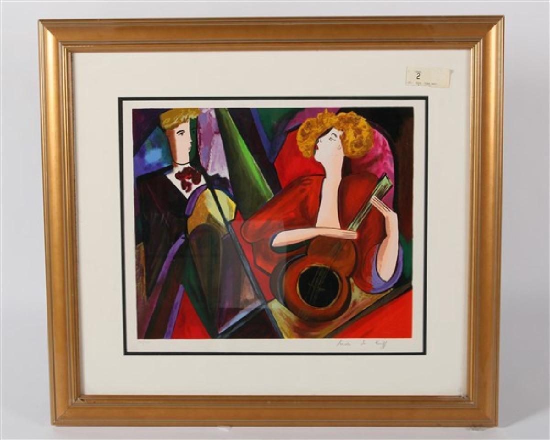 Linda Le Kinff (B. 1949) Untitled