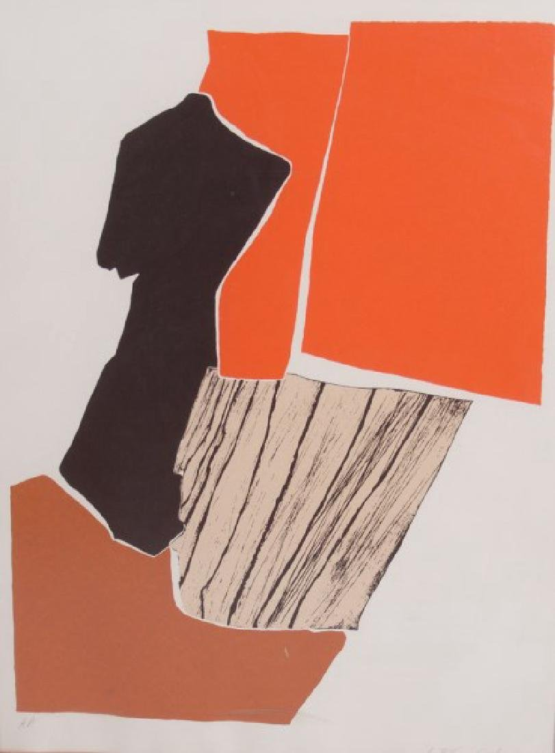"A. Blanchard (20th C) ""Abstract"""