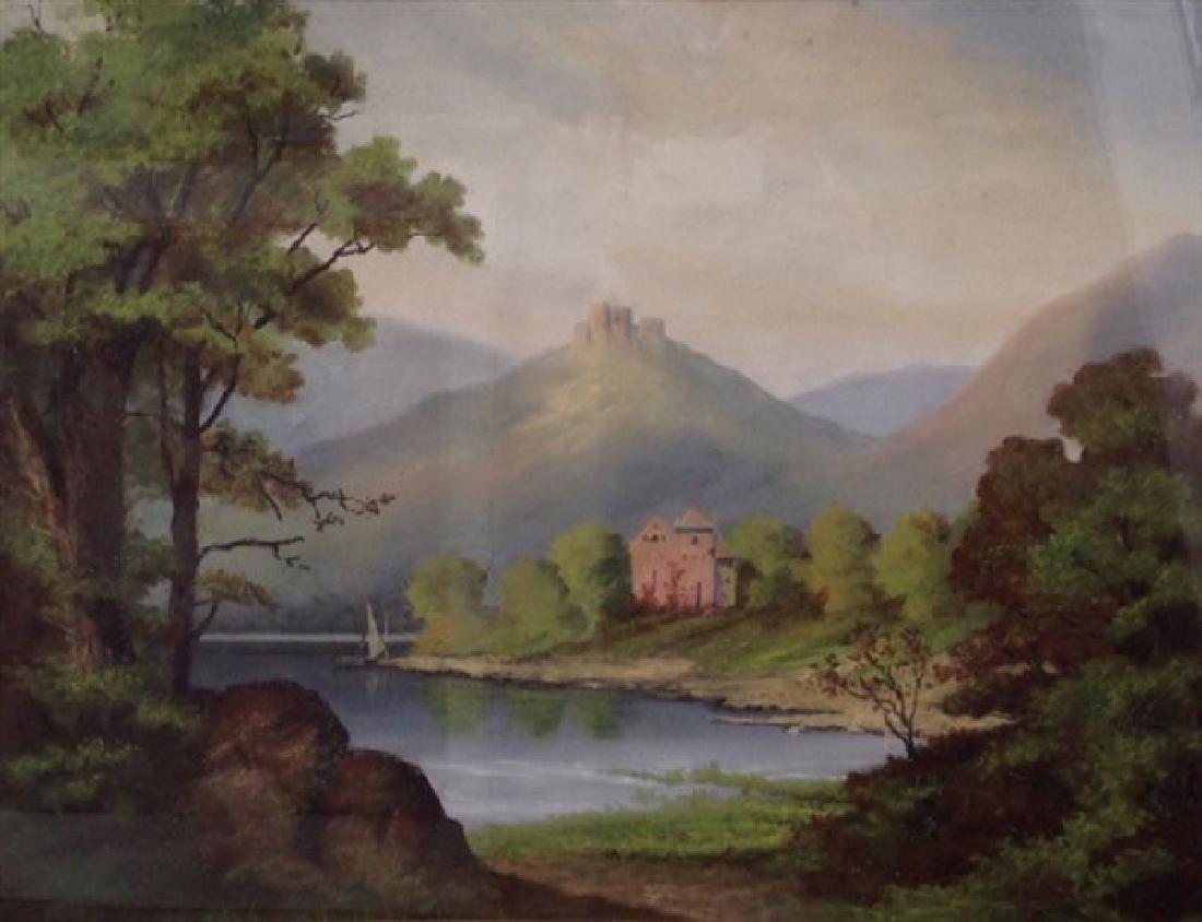 Unknown Artist, Untitled 19th C. Landscape