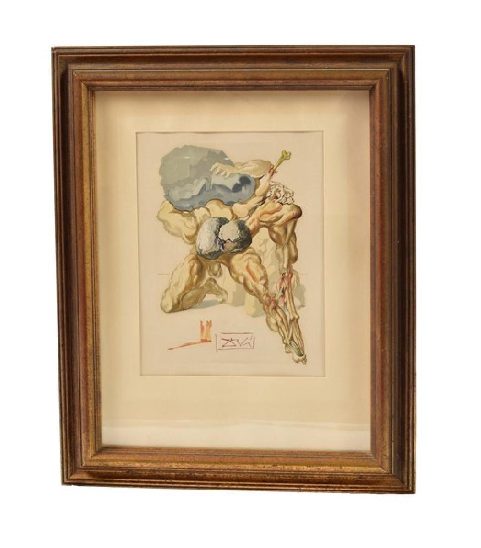 "Salvador Dali (1904 - 1989), ""The Avaricious..."""