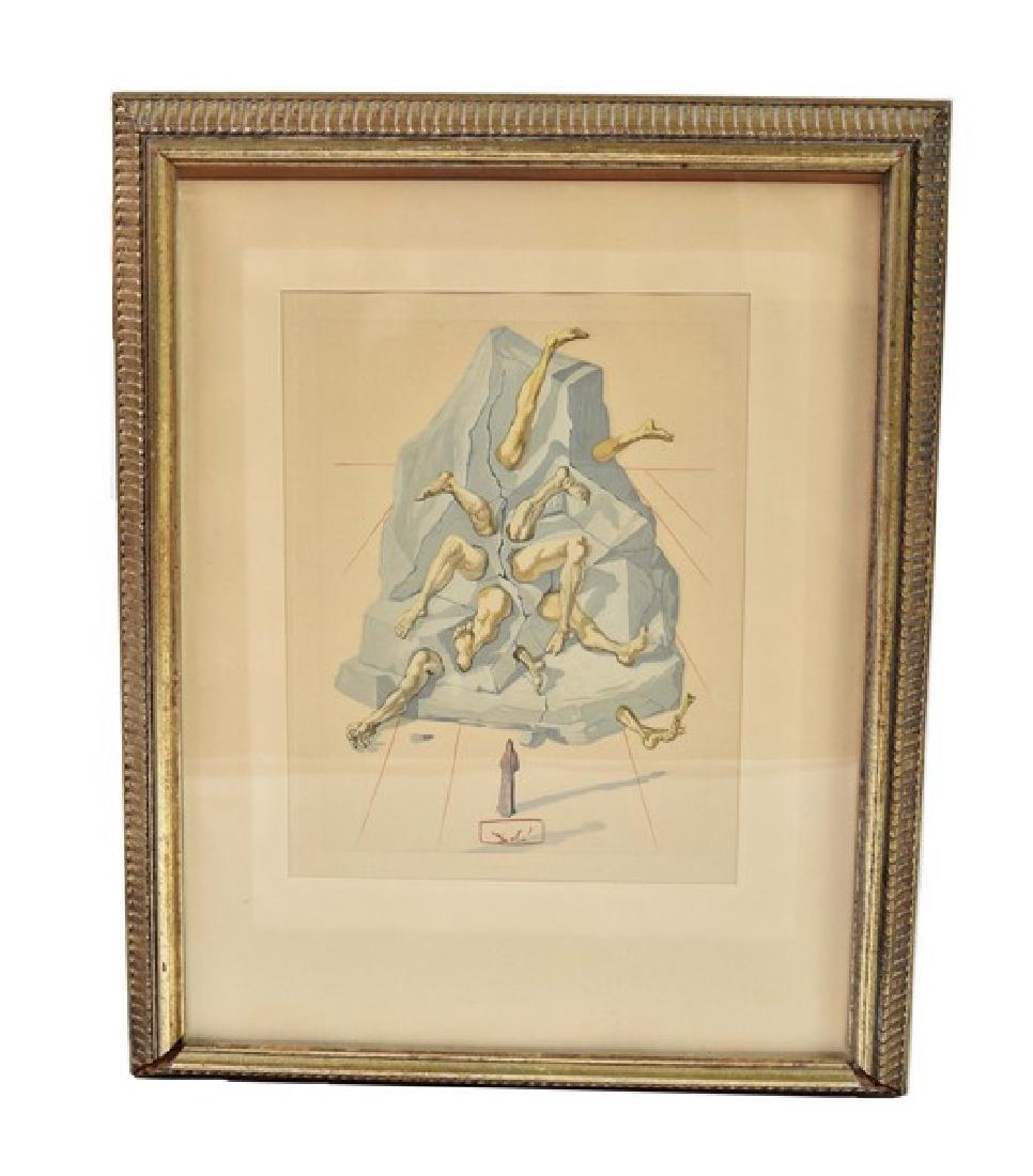 """Salvador Dali (1904 - 1989), """"The Simoniac"""""""