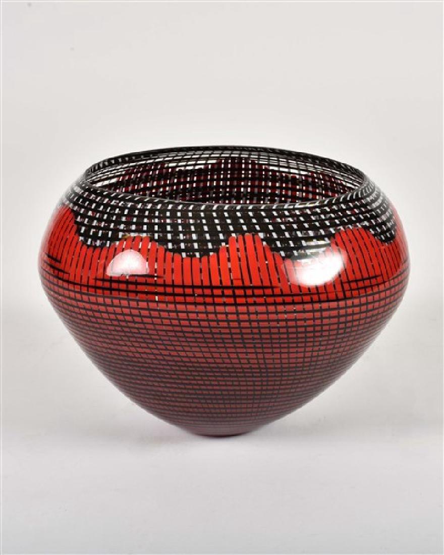 Lino Tagliapietra (B. 1934), Glass Vase