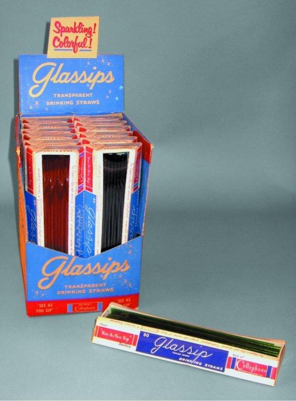5: Glassips Transparent Drinking Straw Display