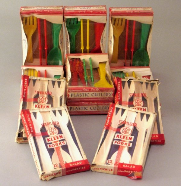 9: Lot of Nos Plastic Cutlery