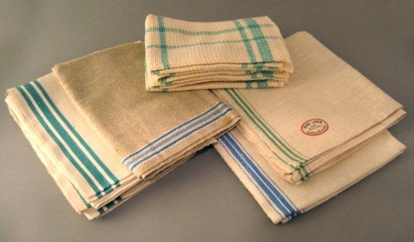 10: 10 Nos Pure Linen Kitchen Towels