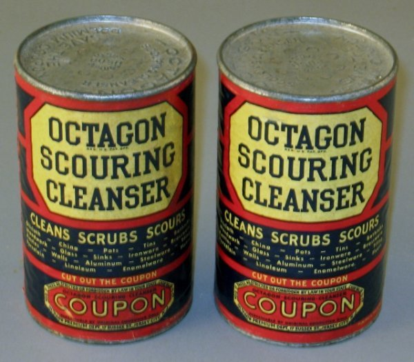 11: 2 Nos Octagon Soap Scouring Cleansers