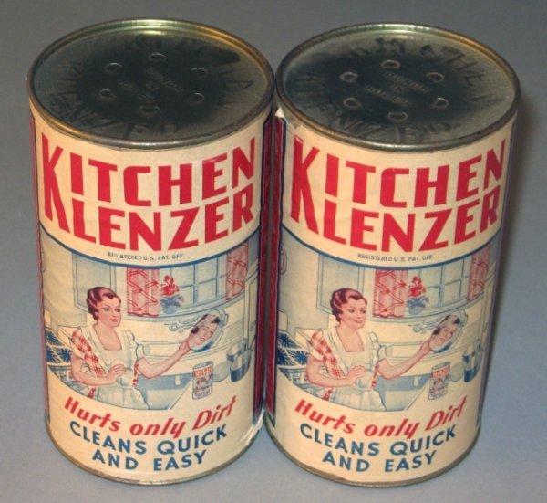 12: 2 13oz Tins of Kitchen Soap Klenzer
