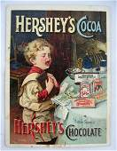 601: Hershey's Cocoa Lancaster Litho Trade Card