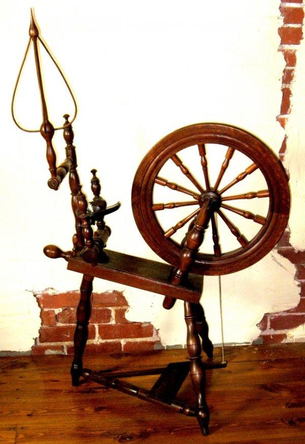 770: 1860-1870's Daniel Danner Spinning Wheel