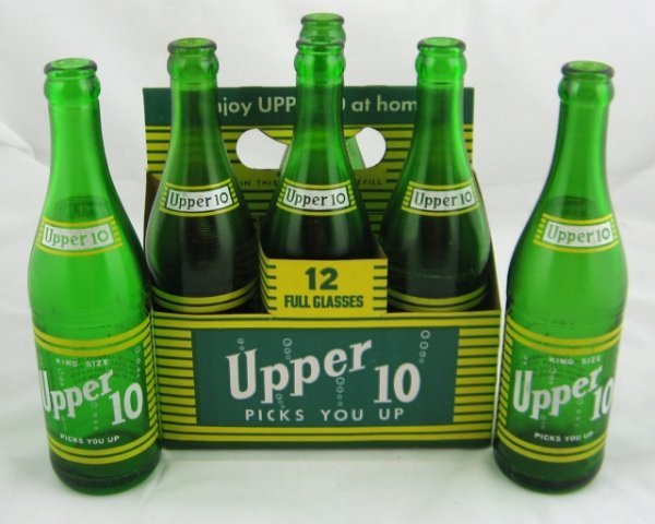 788: King Size Upper 10 Green Bottles