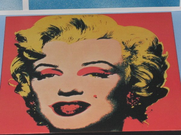 193: Marilyn/ Warhol Painting