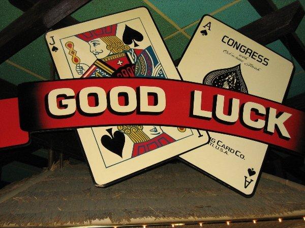 1: Good Luck Sign