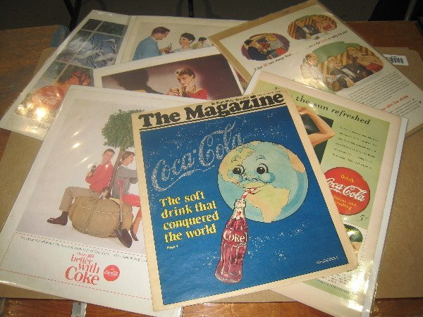 15: Coke Ad's and Flyers