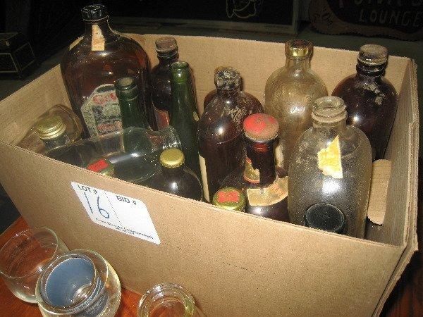 16: Antique Bottles