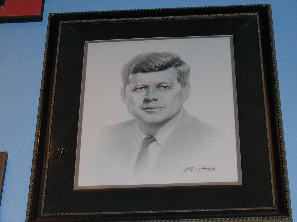 163: Portrait of John F. Kennedy