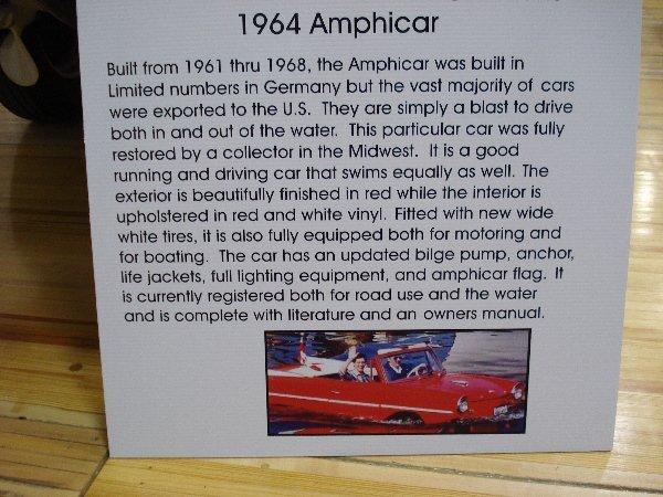 1001: 1964 AMPHICAR Convertible