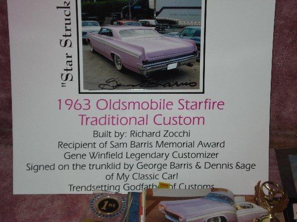 1002: 1963 OLDSMOBILE STARFIRE Traditional Custom BUILT