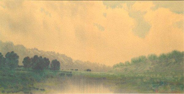 8: Robert Burns Wilson watercolor Kentucky