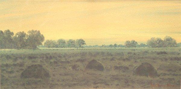 9: Robert Burns Wilson watercolor Kentucky