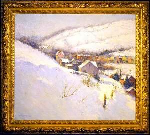 """165: Paul Sawyier OOC """"Skyline View"""""""