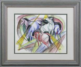 Attributed to Franz Marc 1880 1916