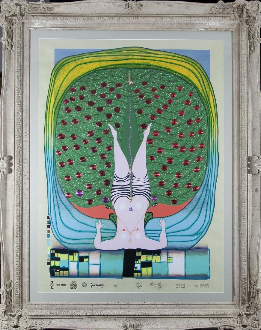 Friedensreich Hundertwasser (1928 - 2000)