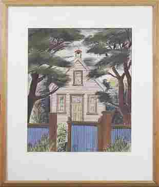 E Mervyn Taylor 19061964 New Zealand Artist