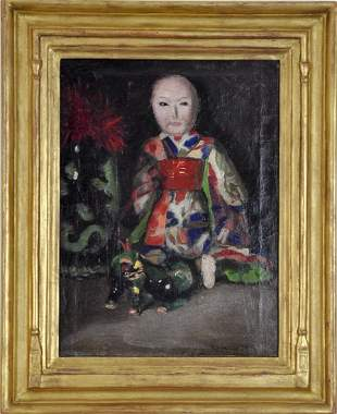 signed Reynolds Beal (1866 - 1951)