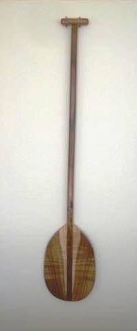 28: Koa Wood Paddle