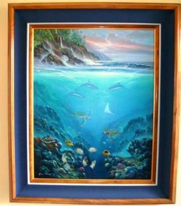 112: Original Oil  by Robert Thomas