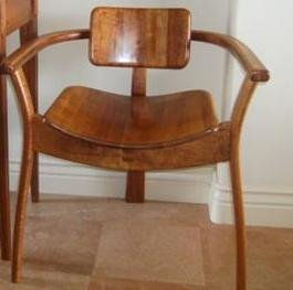 114: Koa Captains Chair