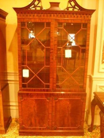 504: George III Style China Cabinet