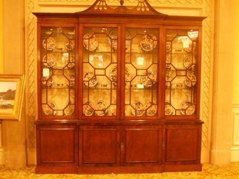 508: Antique China Cabinet