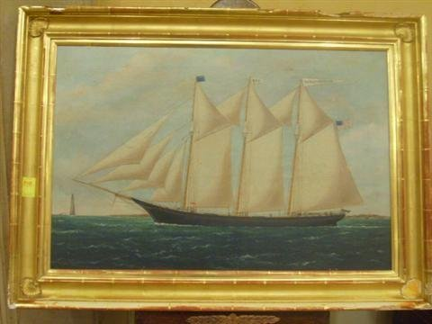 510: Original oil  on canvas by WP Stubbs