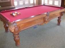 512: Koa wood Pool table