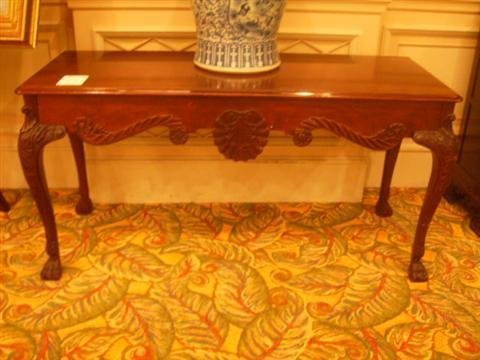 517: Antique Carved Sofa table