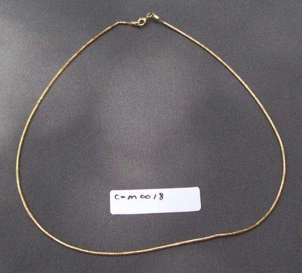 18G: Ladies Necklace