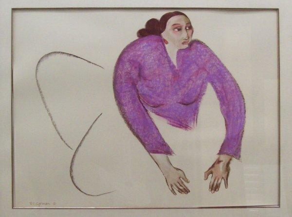 0308: Art - Oil Pastel