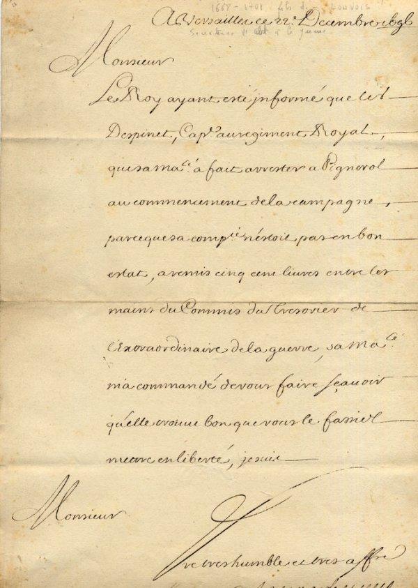 4: ANCIEN REGIME-Marc Pierre d'ARGENSON (LS 1750 - inté