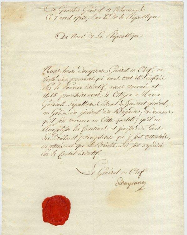 19: Auguste-Marie DAMPIERRE [1765-1793] Général (tué d'