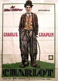 445: CHARLIE CHAPLIN Rare affiche 120 x 160. Editions L
