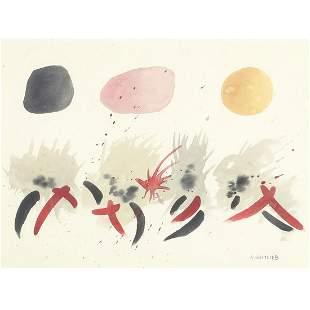 Adolph Gottlieb, (American, 1903-1974), Untitled,
