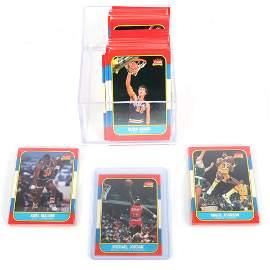 1986-87 Fleer Basketball Complete Set w/ Michael Jordan