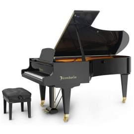 Bosendorfer Grand Piano, Model 225, Serial No.37277,