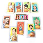 1970-71 Complete Topps Basketball 175 Card Set with
