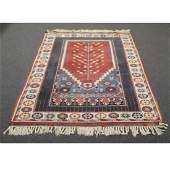 Turkish Kula Prayer Rug wool estate rug / carpet in